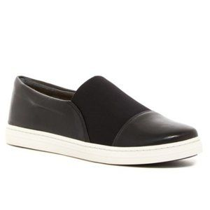NEW Via Spiga Raine Slip On Sneaker in Black 8.5